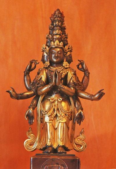 Невідомий майстер. Індія Авалокітешвара. ХVІІ ст.