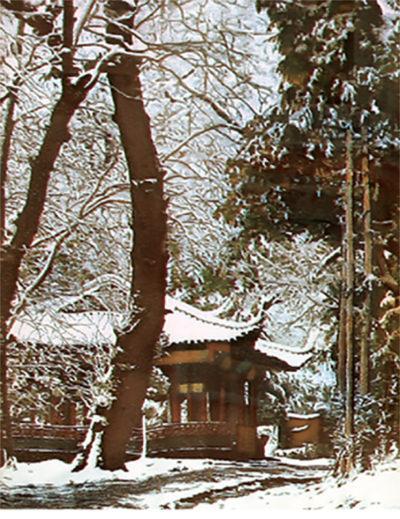 Невідомий автор. Китай Альтанка в парку Бей-хай. ХХ ст.