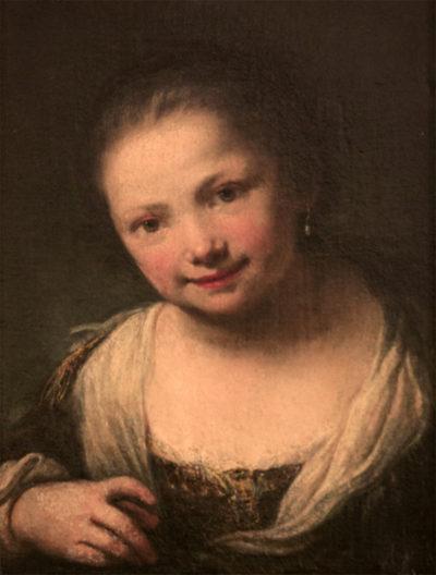 Фердинанд Бол  1616  – 1680 Портрет дівчинки