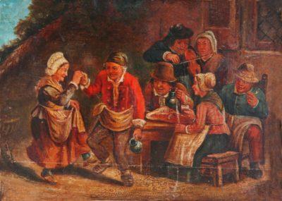 Невідомий художник. Голандія Сільський танок. XVII ст.