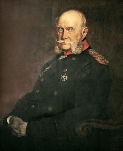 Лєнбах Ф. 1836 - 1904 Портрет кайзера Вільгельма І