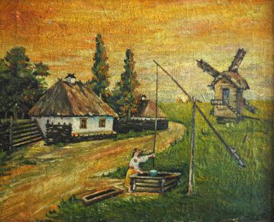 Невідомий художник Український мотив
