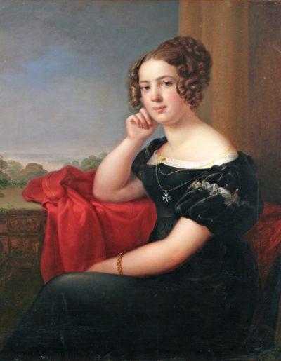 Боровиковський В. Л. 1757 – 1825 Портрет дівчини