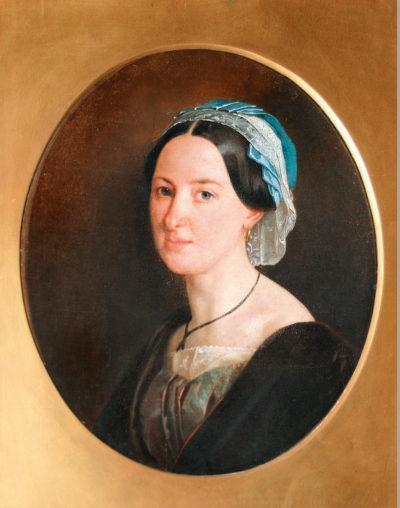 Невідомий художник Жіночий портрет. ХІХ ст.
