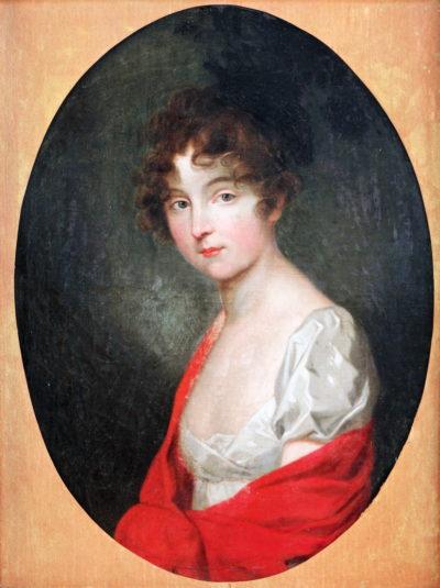Невідомий художник Портрет дівчини. ХІХ ст.